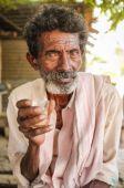 高齢者のインド人 — ストック写真