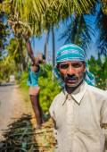 Indian worker — Stock Photo