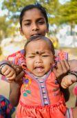 Indian baby — Stock Photo
