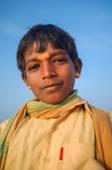 Young Indian pilgrim — Stock Photo
