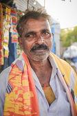 Indian man before bathing — Stock Photo