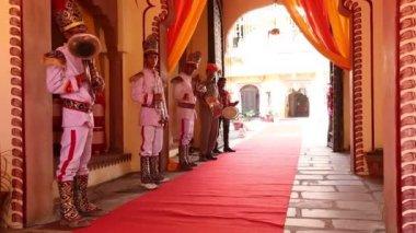 Traditional hindu wedding — Stock Video