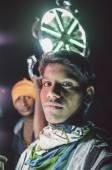 Indian kids work on wedding — Stock Photo