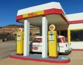 Dos 50 Ford perua, Lowell, no Arizona — Fotografia Stock