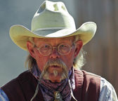 A Cowboy of Old Tucson, Tucson, Arizona — Stock Photo