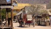 A Scene in Old Tucson, Tucson, Arizona — Stock Photo