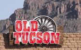 An Old Tucson Entrance Sign, Tucson, Arizona — Stock Photo