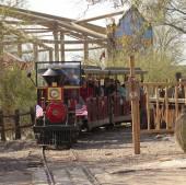 A Train Ride of Old Tucson, Tucson, Arizona — Stock Photo