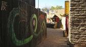 An Entrance to Chinatown, Old Tucson, Tucson, Arizona — Stock Photo