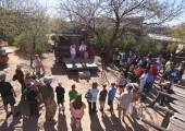 A Medicine Show of Old Tucson, Tucson, Arizona — Stock Photo