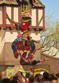 An Acrobat Troupe at the Arizona Renaissance Festival — Stock Photo