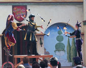 A Clan Tynker Show, Arizona Renaissance Festival — Stock Photo