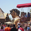 A Giant Horse at the Arizona Renaissance Festival — Stock Photo #71970023