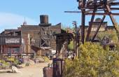 An Entrance to Goldfield Ghost Town, Arizona  — Stock Photo