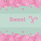 Candy piruletas de fondo transparente — Vector de stock
