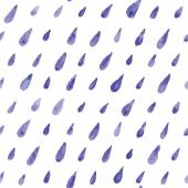 Hand paint  watercolor drops pattern — Stock Photo