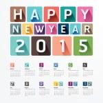 2015 Happy new year. — Stock Vector #53815879