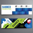 Set of banner template design — Stock Vector #65061435