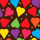 Καρδιές υφές — Διανυσματικό Αρχείο