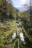 Vecchia ferrovia — Stock Photo