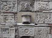 Etruscan tomb collection — Stock Photo
