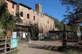 The old Casale della Vaccareccia — Stock Photo