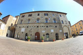 Palazzo Pretorio in Sansepolcro, Italy — Stock Photo