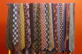 Tie collection — Stock Photo