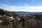 Arona Town overview — Stock Photo