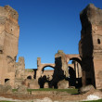 Постер, плакат: Ancient ruins Caracalla Baths in Rome