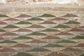 Roman Mosaic floor — Stock Photo