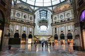 Galería Vittorio emanuele de Milán — Foto de Stock