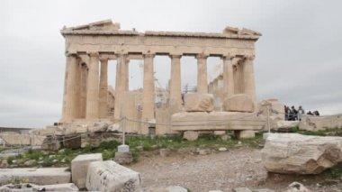 Parthenon in Athens — Stock Video