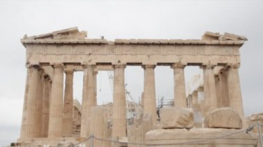 Parthenon in Athens — Stock Video