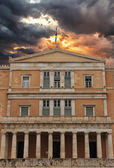 Parliament in Athens Greece — Stock Photo