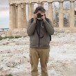Photographer under the Parthenon — Stock Photo #71415143