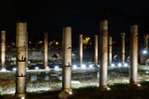 Trajan Forum at night in Rome — Foto de Stock