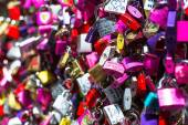 Padlocks at Juliet Capulet Home in Verona — Stock Photo