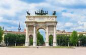 Arch of Peace (Arco della Pace) in Milan — Стоковое фото