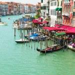 View of Grand Canal of Venice from Bridge Rialto, Venice — Photo #59177391