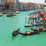 View of Grand Canal of Venice from Bridge Rialto, Venice — Photo #59177395