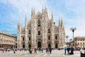 Milan Cathedral (Duomo di Milano) in Milan — Stockfoto