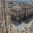 View from Milan Cathedral (Duomo), Milan — Stock Photo #66195781