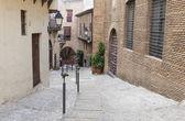 Poble espanyol - geleneksel mimari Barcelona, İspanya — Stok fotoğraf