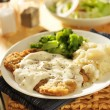 Country fried steak — Stock Photo #54228411