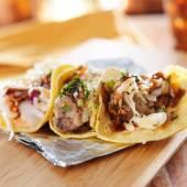 Asian pork tacos — Foto de Stock