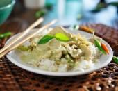 Thai green curry — Stock Photo