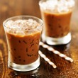 Two glasses of iced coffee — Stock Photo #54234313