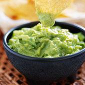 Mexican guacamole — Stock Photo