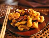 Chinese tso's chicken — Photo